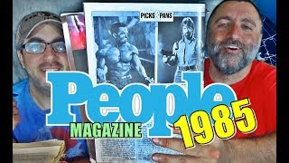FUN TRIP INTO PEOPLE MAGAZINE!!! (1985)
