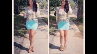 SPRING OOTD: Mini Skirt & High Heels