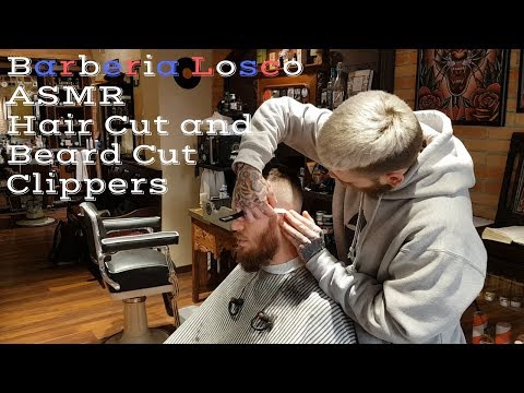 💈 - ASMR - Old school barber - Hair cut and beard cut with clippers