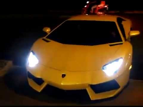 First Lamborghini Aventador in Vietnam