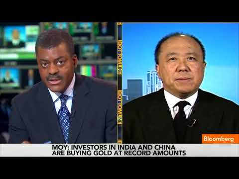 Edmund Moy, Former Director of the U.S. Mint on Bloomberg Television