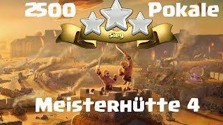 LP Clash of Clans Deutsch 2500 Pokale Meisterhütte 4 Babydragon Angriff und Baselayout