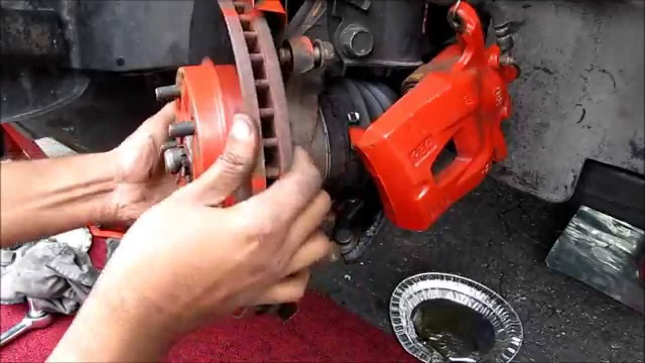 Front Brake Pads, Rotors & Caliper Replacement: Toyota ...