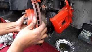 Front Brake Pads, Rotors & Caliper Replacement: Toyota / Lexus