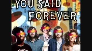 You Said Forever [Ratatat + Gotye + Whitney Houston + Broke For Free + Bloc Party + The Shins]