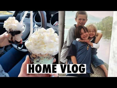 VLOG: GOING HOME, A FEW MINI HAULS, SEEING MY BROTHER!