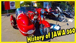 Classic Motorcycles from the 60s Jawa 360 1965 Review. History of JAWA 360. Retro Motorcycles