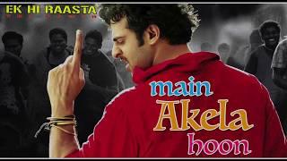 Main Akela Hun | Ek Hi Raasta | Udit Narayan | Prabhas | Kangna Ranawat