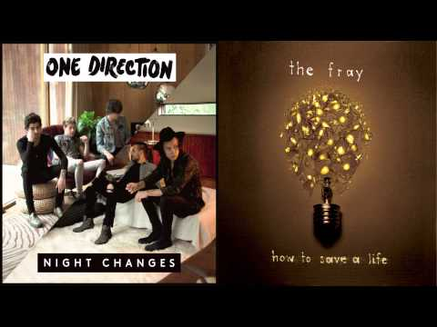One Direction Vs. The Fray - How To Save A Night (Mashup)