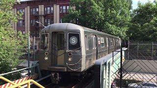NYC Subway HD 60fps: BMT Franklin Avenue Shuttle Action @ Prospect Park & Park Place (6/17/18)