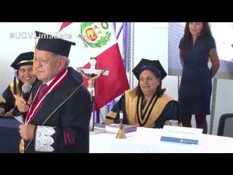 Fundador UCV, Dr. Cesar Acuña - #GraduacionUCV en Lima Este