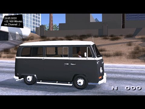 VW Kombi Grand Theft Auto San Andreas GtaInside _REVIEW