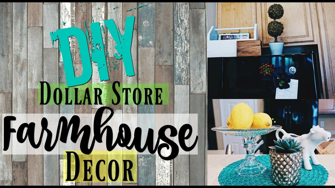 3 DIY Dollar Store Farmhouse Decor