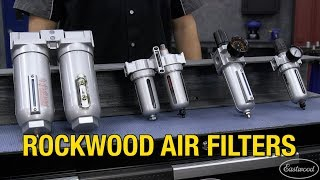 Rockwood Air Filter Systems - Keep Your Air Dry & Clean - Must Have for Painting & Powder Coating