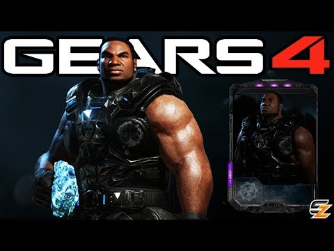 "Gears of War 4 - ""Black Steel Classic Cole"" Character Multiplayer Gameplay! (Black Steel Cole DLC)"