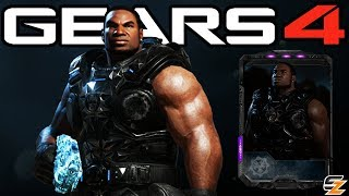 """Gears of War 4 - """"Black Steel Classic Cole"""" Character Multiplayer Gameplay! (Black Steel Cole DLC)"""