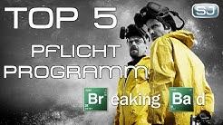 Top 5: Warum jeder Serienjunkie BREAKING BAD schauen sollte! | SJ-Pflichtprogramm