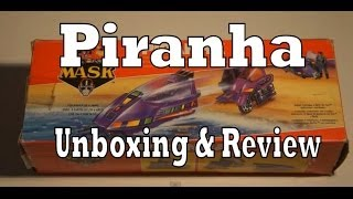 MASK Piranha toy review & unboxing (Kenner M.A.S.K.)
