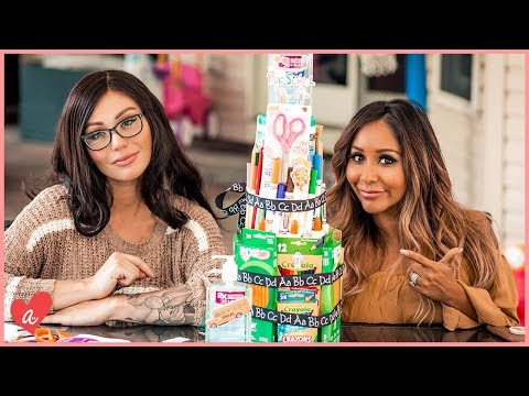Snooki & JWOWW's School Supply Cake! I #MomsWithAttitude Moment!