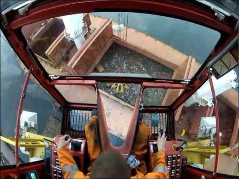 36t Figee Lemniscate crane loading scrap metal