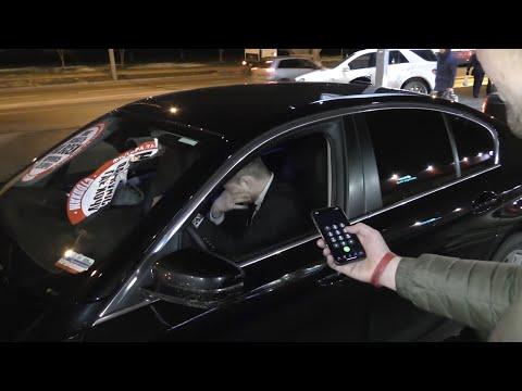 СтопХам-Быдло на BMW начинает драку и получает в лицо перцем