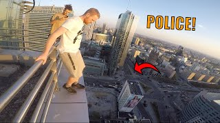 POLICE ESCAPE IN POLAND!