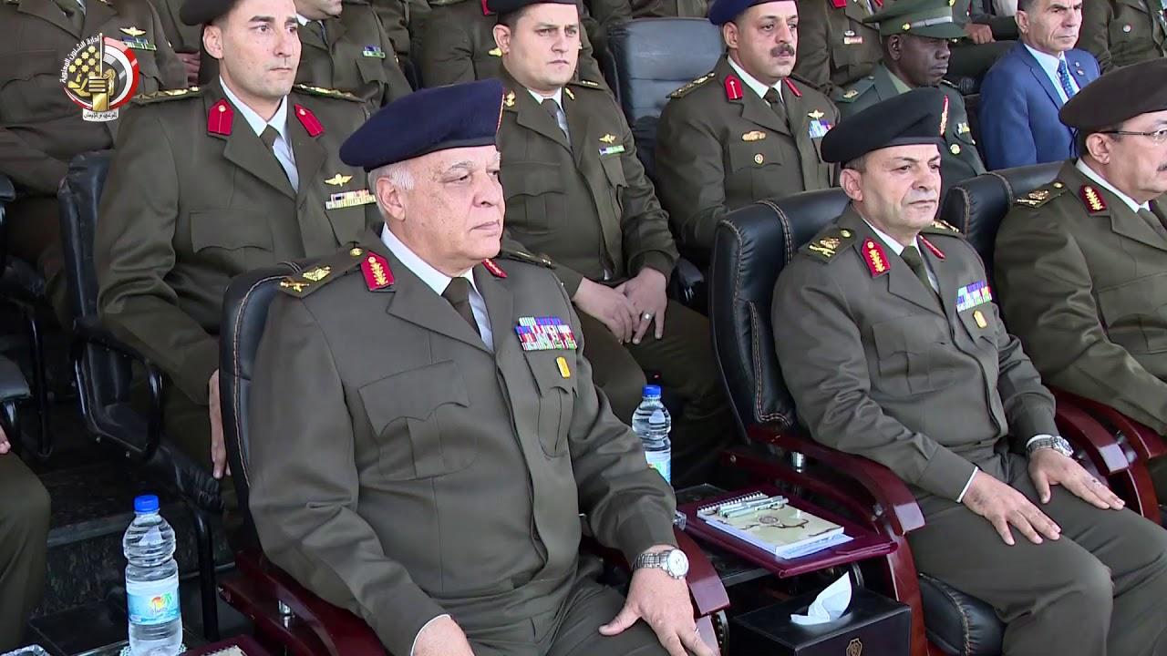 القوات المسلحة تحتفل بتخرج دفعة جديدة من الضباط المتخصصين بالكلية الحربية Youtube