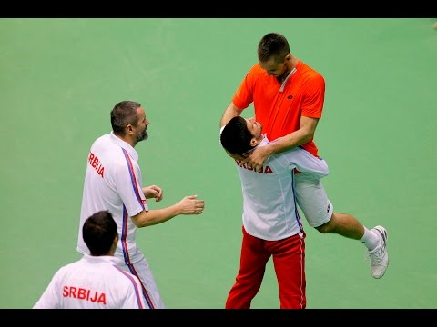 Highlights: Serbia 3-2 Kazakhstan