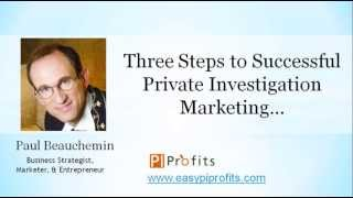 3 Steps to Grow Your Private Investigation Business