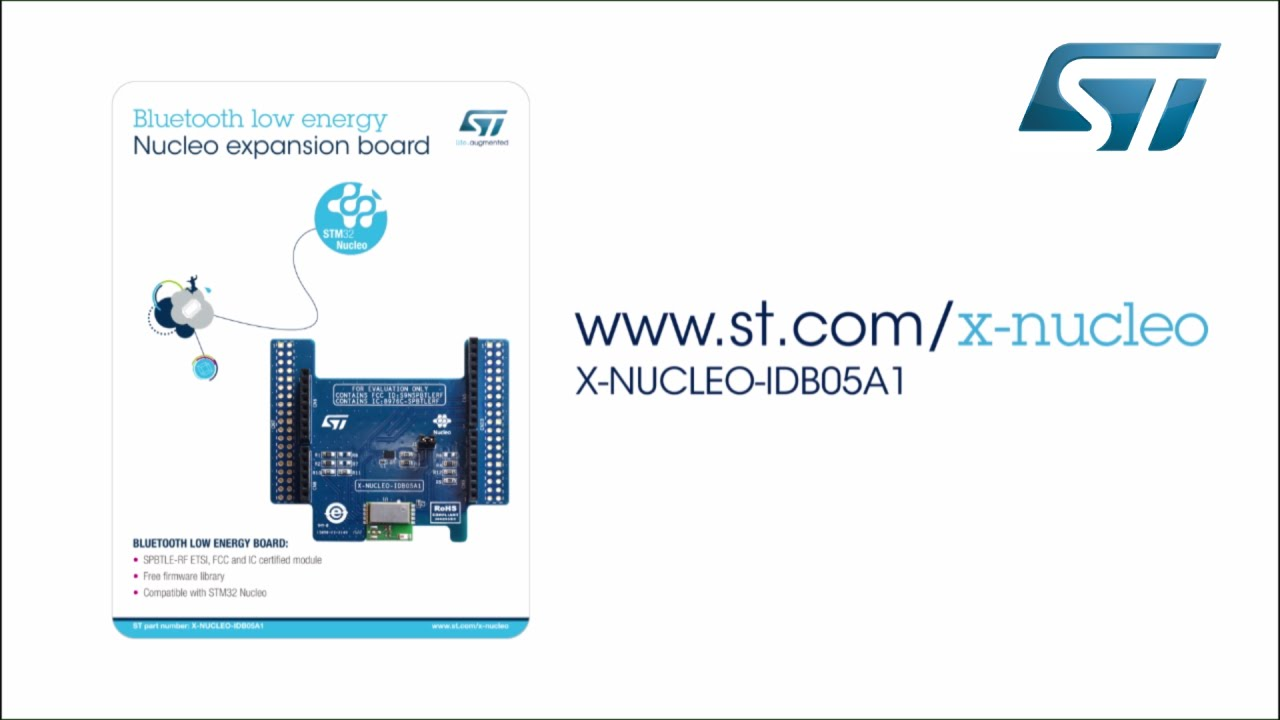 Getting started with Bluetooth Low Energy 4 1 expansion board (STM32 ODE,  X-NUCLEO-IDB05A1)
