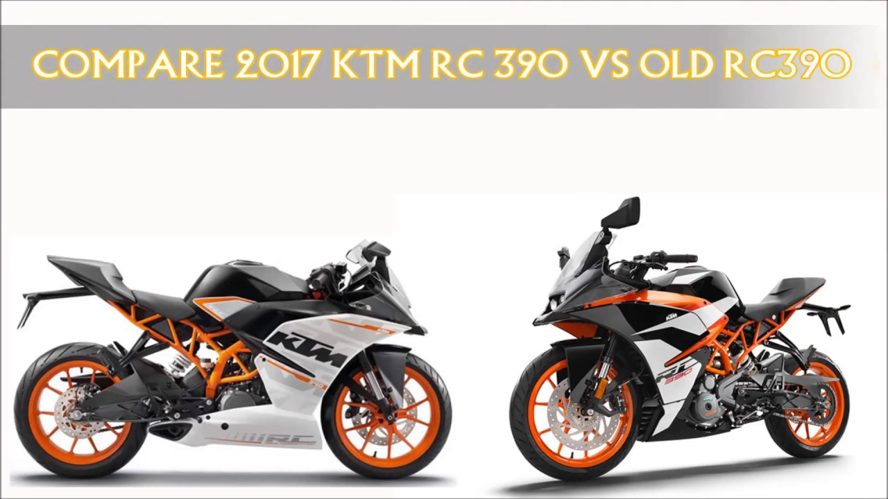 Ktm Rc Vs Duke Comparison