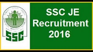 ssc je junior engineer 2016 electrical mechanical civil postponed to feb 2017