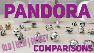 PANDORA Charms Comparisons   Old   New   Disney