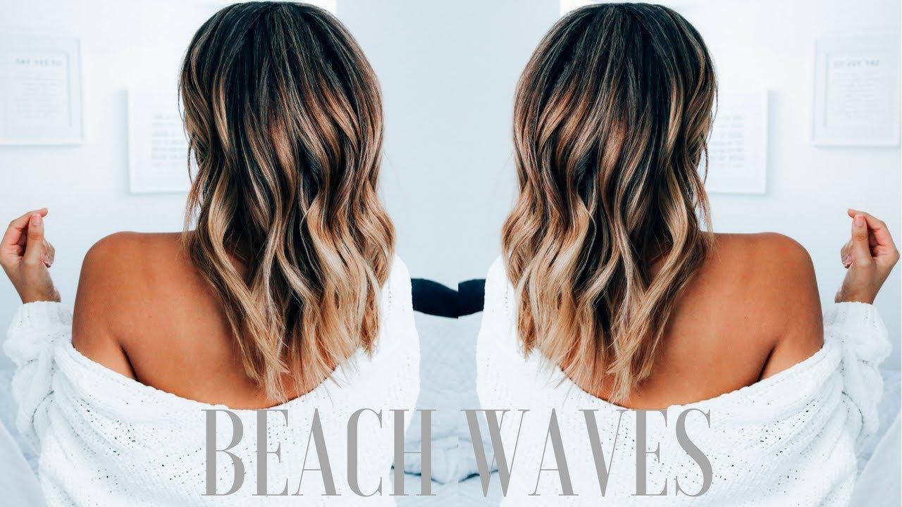 create beachy waves medium