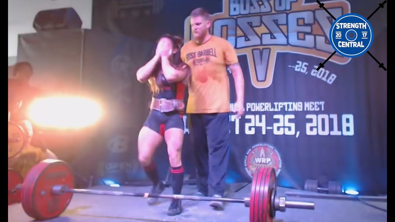 Stefanie Cohen - 1st Place Overall - All Time Wilks WR - 525 kg/1157.4 lbs - Boss Of Bosses 5