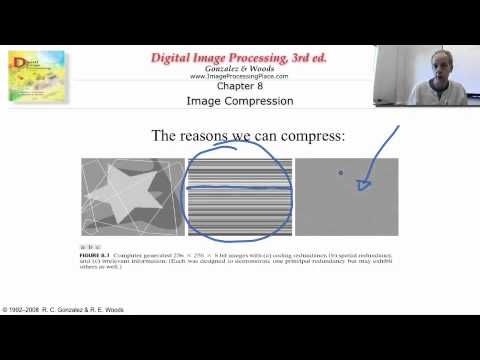 Digital image processing: p007 The why and how of compression