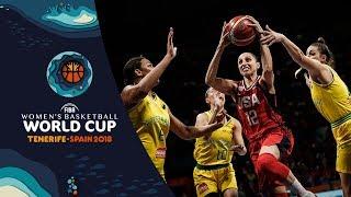Australia v USA - Final Highlights - FIBA Women's Basketball World Cup 2018