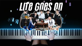 BTS (방탄소년단) - Life Goes On   Piano Cover by Pianella Piano