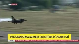 "Turkish ""solo Turk"" pilot flies Pakistani F16"