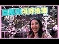 【東京自由行 VLOG】 目黑川 42萬盞粉紅LED 冬之櫻 燈飾