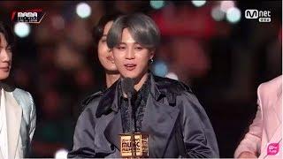BTS won Favorite Dance Artist Male AWARD at MAMA (Japan) 2018