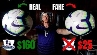 160 Official Premier League Football vs 25 Amazon Knockoff!