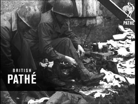 Battle Of The Bulge -  U.S. Troops (1944)