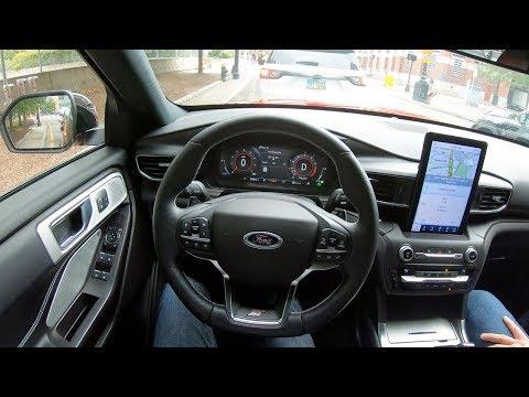 2020 Ford Explorer ST - POV City Test Drive by Tedward (Binaural Audio)