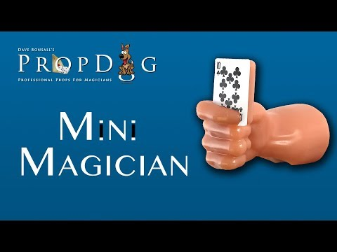 Mini Magician Instructions and Handling - www.PropDog.co.uk
