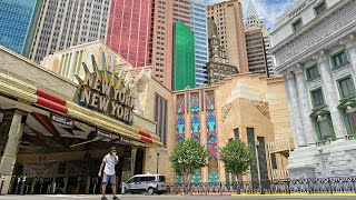 New York New York Hotel and Casino Reopening Tour (is it safe?)