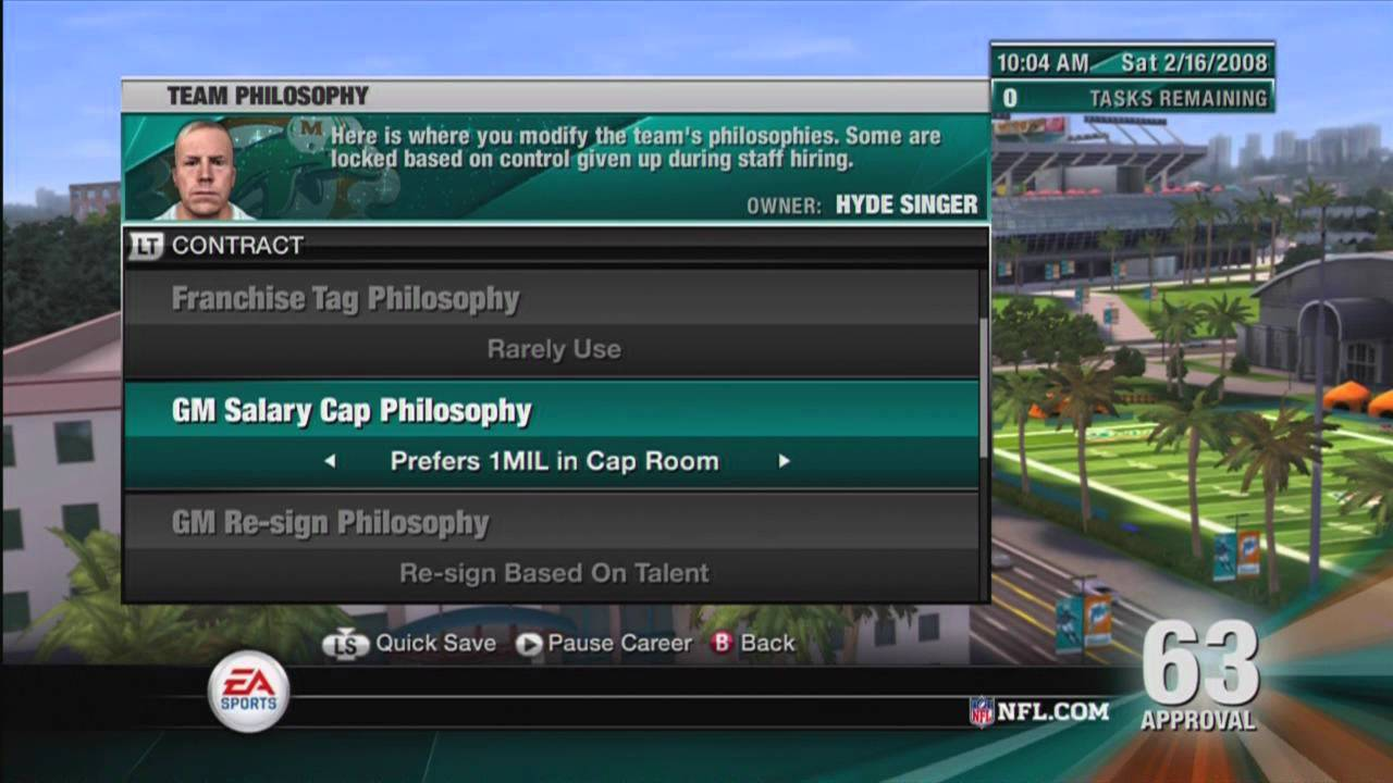 Lets Play NFL Head Coach 09 Ep.1  YouTube