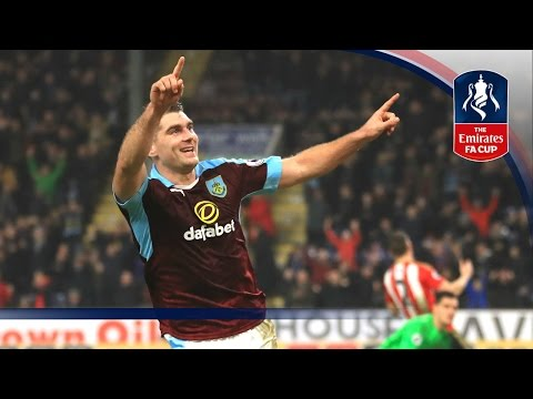 Burnley 2-0 Sunderland (Replay) Emirates FA Cup 2016/17 (R3) | Goals & Highlights