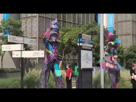Dominica in opening parade - Expo 2020 Dubai