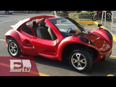 Alumnos del IPN se inspiran en el vocho y crean vehículo eléctrico/ Hiram Hurtado